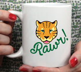Rawr - Leopard Mug [Gift Idea - Makes A Fun Present] [For Him / For Her] Cute Leopard Mug