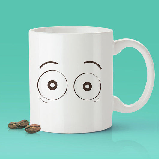 Free Shipping Worldwide - Wide Awake Eye Coffee Mug [Gift Idea - Makes A Fun Present]