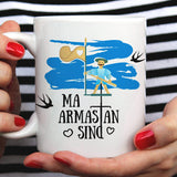 Free Shipping Worldwide - I Love You Mug - Estonian Gift [For Him or Her - Makes A Fun Present]  Estonia Mug-   Ma armastan sind