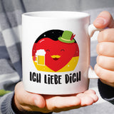 Free Shipping Worldwide - Ich Liebe Dich - German Lover Mug [Gift Idea - Makes A Fun Present] I Love You