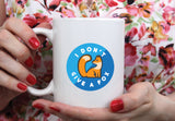 Free Shipping Worldwide - I Don't Give A Fox - Cute Fox Coffee Mug [Gift Idea - Makes A Fun Present]