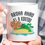 New Zealand - I Love You - Island Mug  [Gift Idea For Him or Her - Makes A Fun Present] I Love You