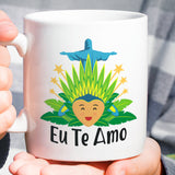 Free Shipping Worldwide - Brazilian Lover Mug  [Gift Idea For Him or Her - Makes A Fun Present] I Love You / Eu Te Amo