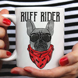 Free Shipping Worldwide - Ruff Rider [Gift Idea For Him or Her - Makes A Fun Present] Cute Ruff & Tuff Dog