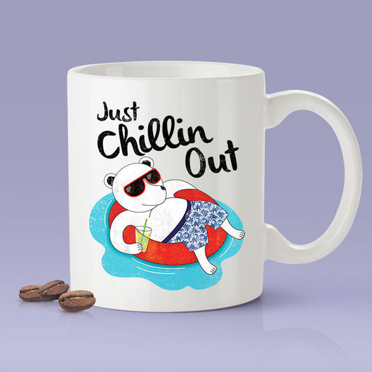 Free Shipping Worldwide - Just Chillin' Polar Bear Cute Coffee Mug  [Gift Idea - Makes A Fun Present - Gift For Her - Gift For Him]