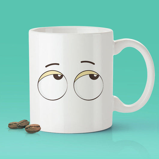 Free Shipping Worldwide  - Eye Roll Coffee Mug [Gift Idea - Makes A Fun Present]