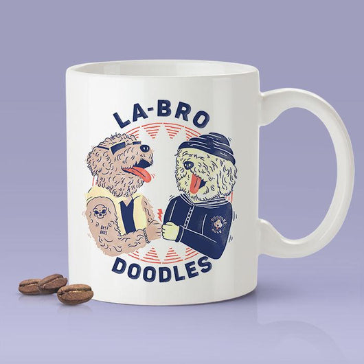 Free Shipping Worldwide - Labro Doodles [Gift Idea - Makes A Fun Present] [For Him / For Her] Cute Dog Coffee Mug