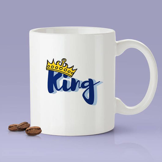 Free Worldwide Shipping - King Coffee Mug [Gift Idea - Makes A Fun Present] [For Him / For Her] Cute Mug For Dad