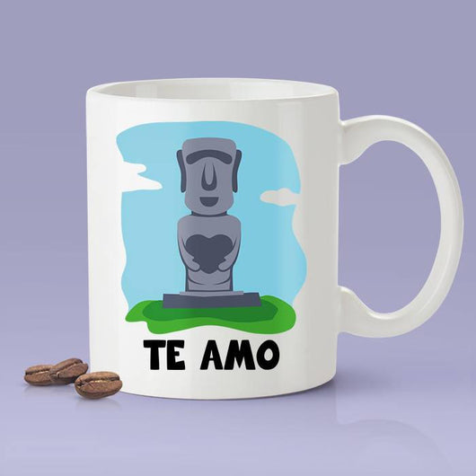 Free Shipping Worldwide - I Love You - Chile [Gift Idea For Him or Her - Makes A Fun Present] Te Amo - Chilean Love Mug