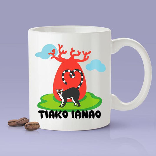 Free Worldwide Shipping - I Love You - Madagascar Gift Idea [For Him or Her - Makes A Fun Present] Tiako Ianao