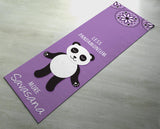 Free Shipping Worldwide - Less Pandamonium, More Savasana Yoga Mat - Cute Panda Yoga Mat  - Practice Yoga In Style [Gift Idea / Fun Present]