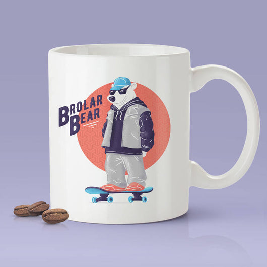 Free Shipping Worldwide - Brolar Bear - Cute Mug [Gift Idea - Makes A Fun Present] [For Him / For Her] - Polar Bear Mug