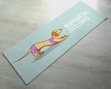 Funny Yoga Mat - Namaste Bitches - Featured design, Premium Quality - Thick, Non-slip, Odorless -  Fun yoga gift