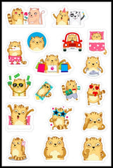 Cat Stickers - You've Cat To Be Kitten Me - Cute Cat Lover Stickers [Gift Idea - Makes A Fun Present]