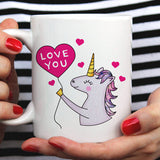 Free Shipping Worldwide - Love You -  Unicorn Mug - Have A Magical Day [Gift Idea - Makes A Fun Present] [For Him / For Her] I Love Unicorns