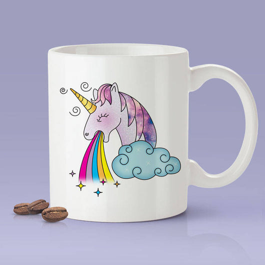 Free Shipping Worldwide - Unicorn Throwing Up Rainbows - Cute Gift Idea For Unicorn Lovers