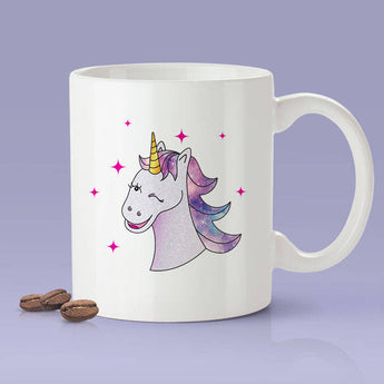 Free Shipping Worldwide - Unicorn Wink Coffee Mug -  Cute Gift Idea For Unicorn Lovers