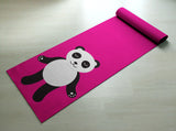 Let That Sh*t Go Panda Yoga Mat - Cute Panda Yoga Mat  - Practice Yoga In Style [Gift Idea / Fun Present] Exercise Mat
