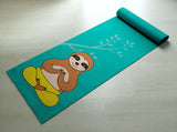 Free Shipping Worldwide - Cute Sloth Yoga Mat - You Hatha Me At Namaste - [Gift Idea / Fun Present] Exercise Mat