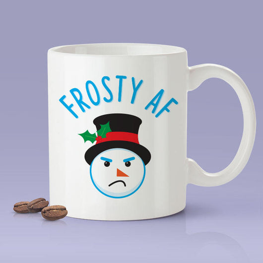 Frosty AF Snowman Mug -  Christmas Mug / Christmas Gifts / The Perfect Holiday Present