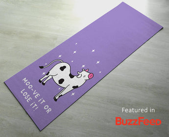 Thick yoga mats - Printed & Customized Yoga gifts for him/her [Best exercise mats]
