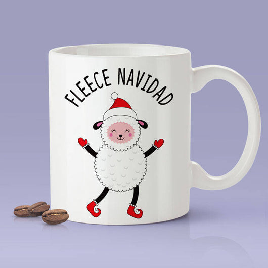 Fleece Navidad Sheep Mug / Christmas Gifts / The Perfect Holiday Present