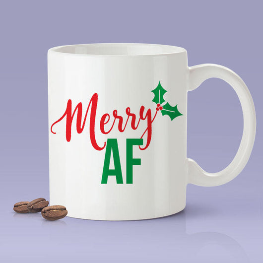 Merry AF Mug - Merry As F*ck Mug / Christmas Gifts / The Perfect Holiday Present