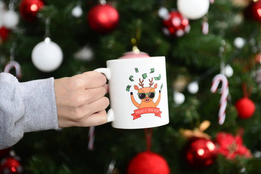 Making It Reindeer Mug / Christmas Gifts / The Perfect Holiday Present