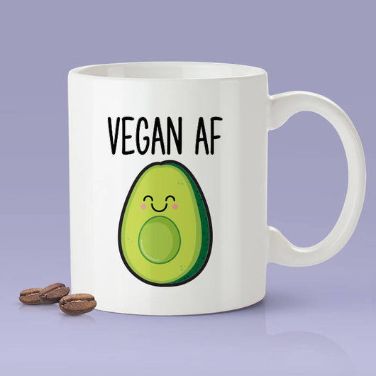 Vegan As Fuck Mug - Funny Vegan AF Coffee Mug - Vegan Gifts