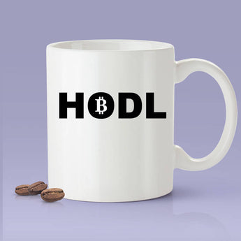 HODL Mug - Crypto Mug - Funny Bitcoin Mug - Blockchain Mug Makes A Great Gift