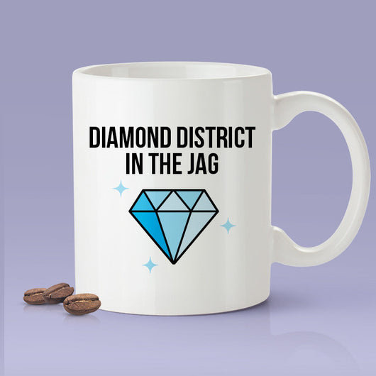 Diamond District In The Jag -  Cardi B Inspired Coffee Mug - I Like It - Cardi B