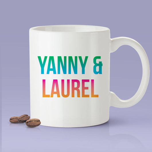 Yanny &Laurel Mug - Yanny Laurel Sound Internet Debate Mug
