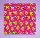 Cardi B Dog Bandana -  Bad To The Bone Dog Banda - Cute Fashion For Your Favorite Pup - Dog Bandana Pink / Blue / Purple