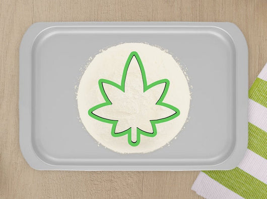 Weed Cookie Cutter- Perfect For Baking Pot Themed Cookies
