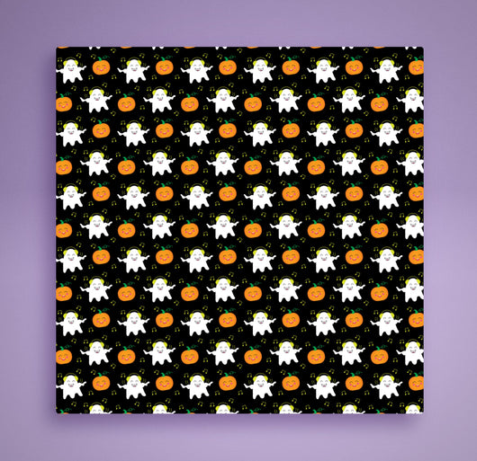 Ghost Halloween Bandana -  Pumpkin Spice and Everything Nice - Cute Fashion For Your Favorite Dog or Cat