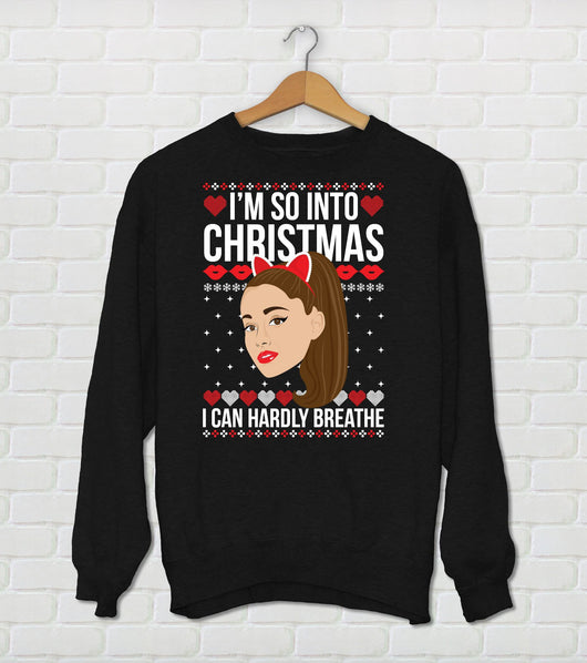 Ariana Grande Ugly Christmas Sweater
