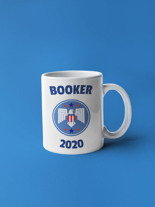 Cory Booker Spaceship 2020 President Mug - Coffee Mug [Booker 2020 Coffee Mug]