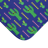 Cactus AntiSlip Bathmat  Printed Bathmat With Cactus Pattern