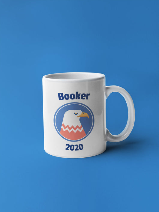 Cory Booker Eagle 2020 President Mug - Coffee Mug [Booker 2020 Coffee Mug]