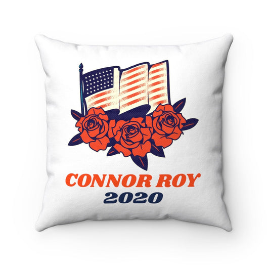 Succession Parody Pillow - Connor Roy 2020 Spun Polyester Square Pillow - Conheads