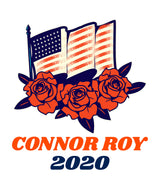 Connor Roy 2020 Succession Tee-  Succession Parody White Tee
