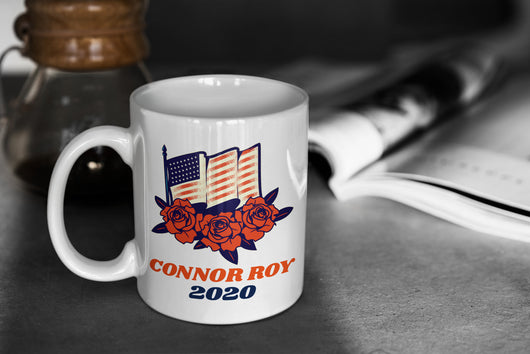 Connor Roy 2020 Succession-  Succession Parody Mug