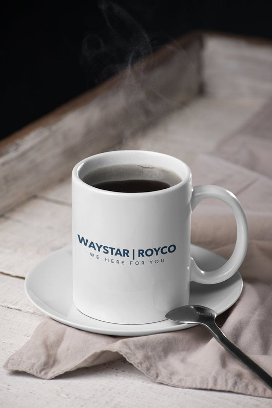 Waystar Royco / We Here For You -  Succession Parody Mug