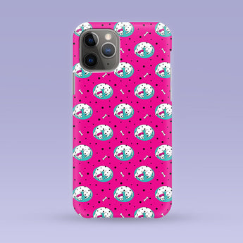Sleeping Dog iPhone Case - Multiple Case Sizes Available - Dalmatian Phone Cover, Durable iPhone Case - Sleeping Dog iPhone Case