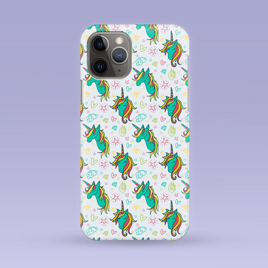 Colorful Unicorn iPhone Case - Multiple Case Sizes Available -Unicorn  Phone Cover -Unicorn Phone Case