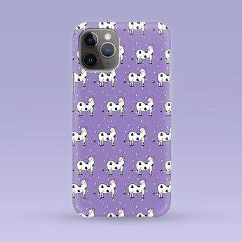 Yoga Cow iPhone Case - Multiple Case Sizes Available - Cow Phone Cover, Durable iPhone Case - Yoga Cow iPhone Case