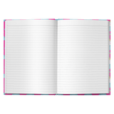 Hardcover Printed Pink Journal