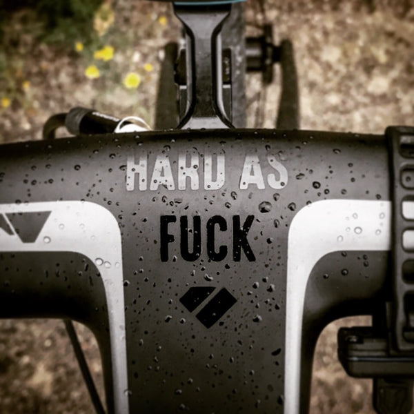 Hard as f*ck - Decal