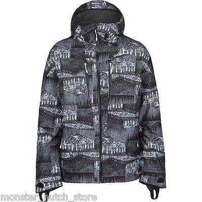 BRAND NEW W/ TAGS O'Neill JEREMY JONES Snowboard Ski Jacket BLACK MEDIUM-2XLARGE