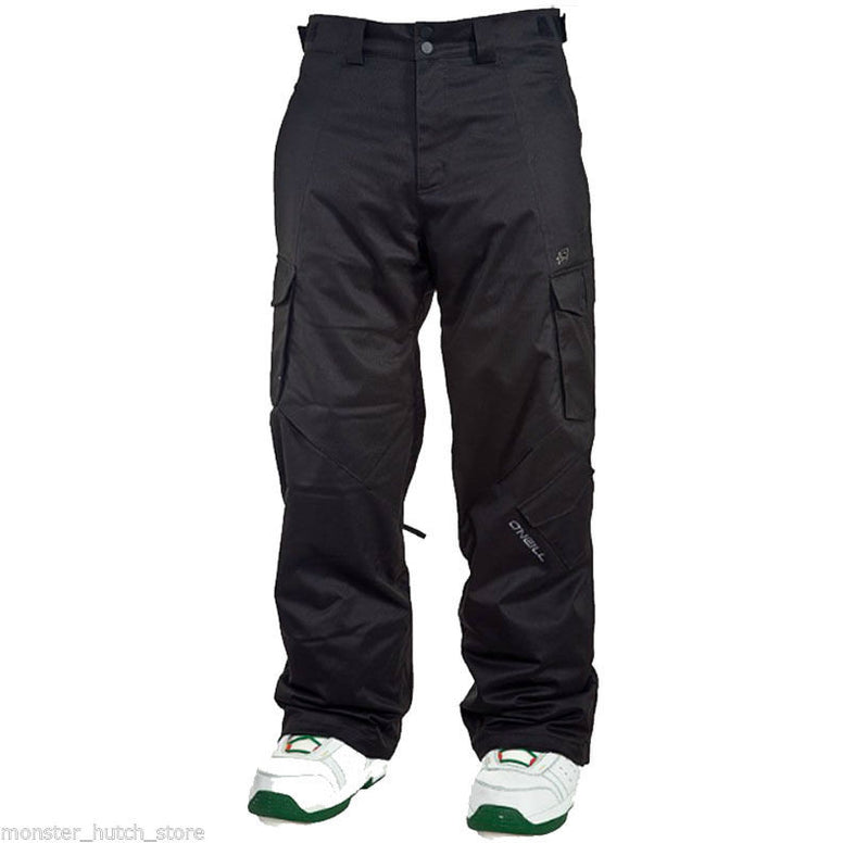 BRAND NEW WITH TAGS O'Neill EXALT Snowboard Ski Pant BLACK OUT MEDIUM-2XLARGE